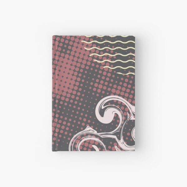 Abstract Pattern 33  Hardcover Journal
