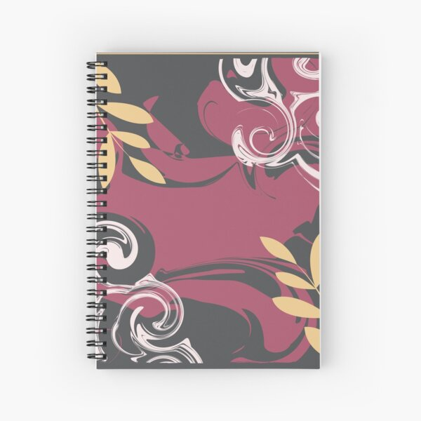 Abstract Pattern 37  Spiral Notebook