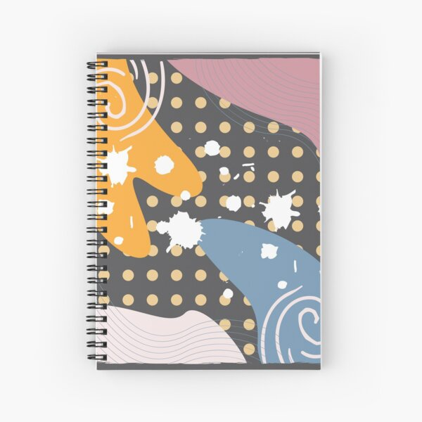 Abstract Pattern 41  Spiral Notebook