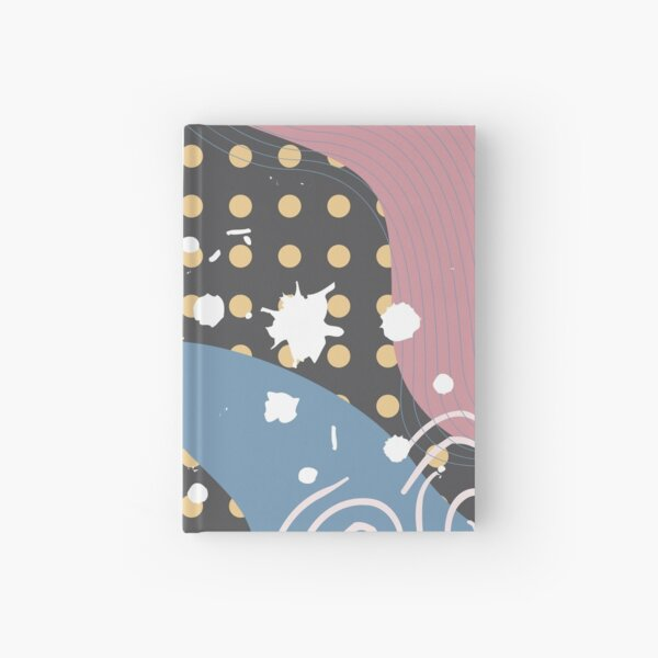 Abstract Pattern 41  Hardcover Journal