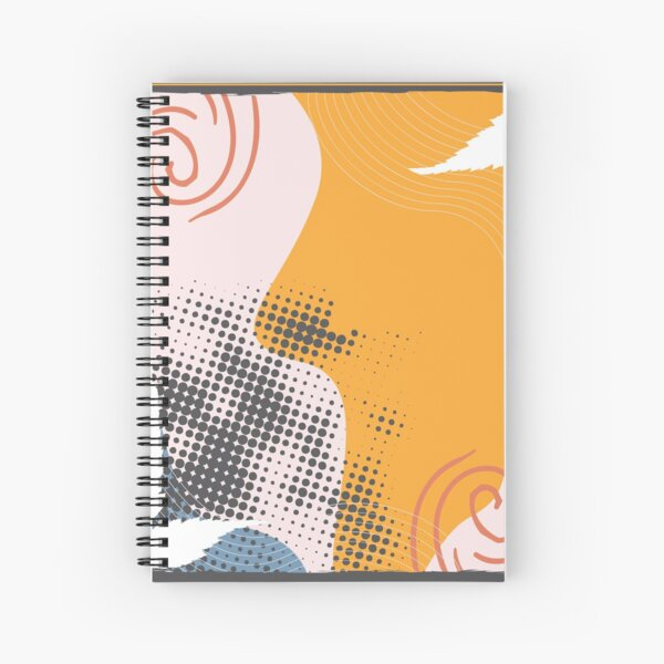 Abstract Pattern 43  Spiral Notebook
