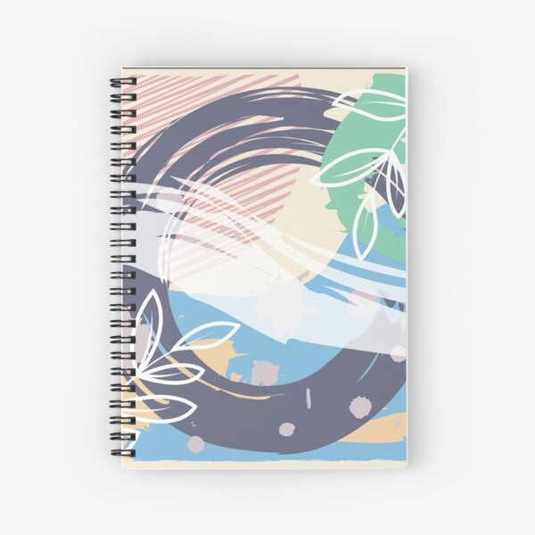 Abstract Pattern 46  Spiral Notebook