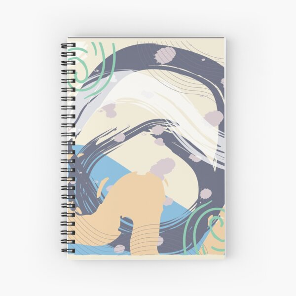 Abstract Pattern 47  Spiral Notebook