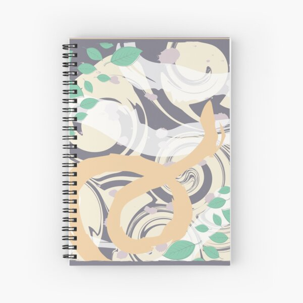 Abstract Pattern 1  Spiral Notebook
