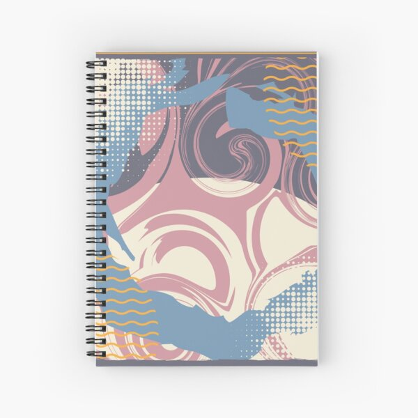 Abstract Pattern 2  Spiral Notebook