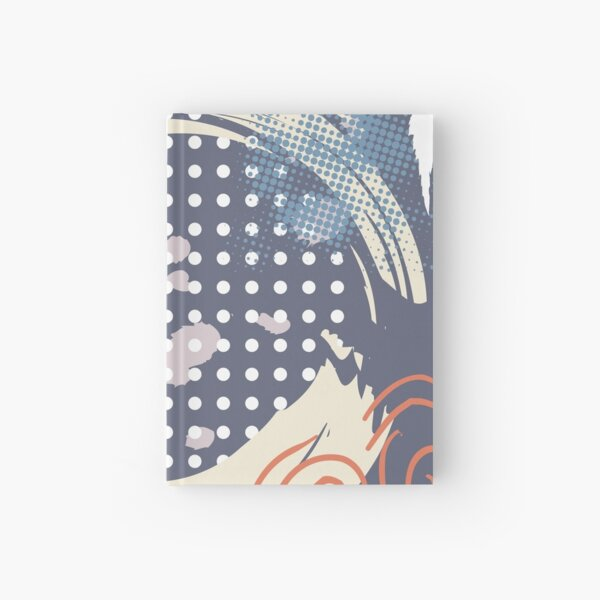 Abstract Pattern 4  Hardcover Journal