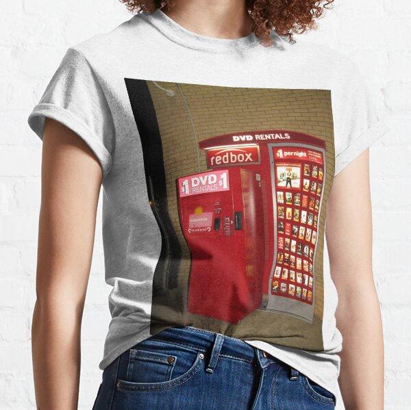 Redbox, red, box, display advertising Classic T-Shirt