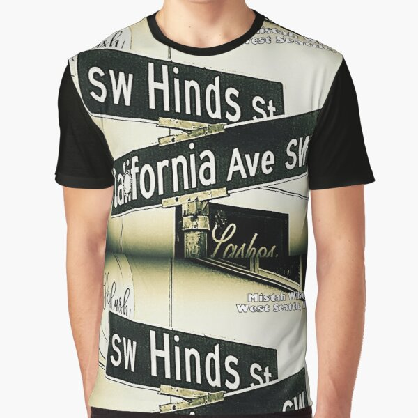 Hinds & California, West Seattle, SIGNATURE by Mistah Wilson Graphic T-Shirt