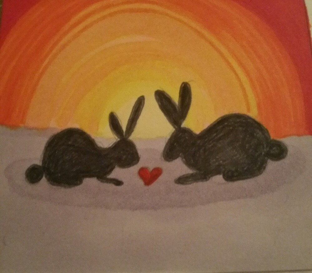 Bunny Love  by AvisArt