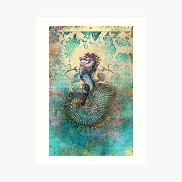 The Seahorse Diary Art Print