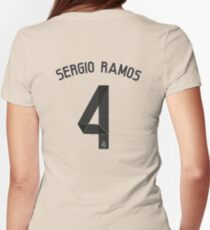 sergio ramos Womens Fitted T-Shirt