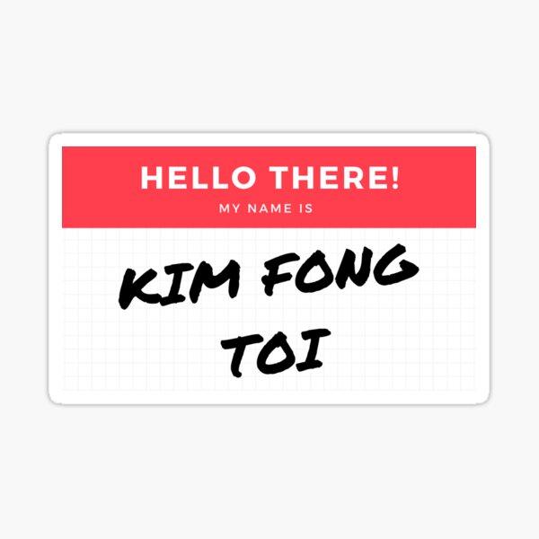 Golden Girls Rose Nylund Kim Fong Toi Sticker