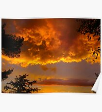 St. Lawrence River Sunset Poster