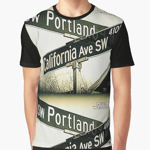 SW Portland Street & California Ave SW SIGNATURE Graphic T-Shirt