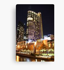 Melbourne Crown Casino by night Canvas Print