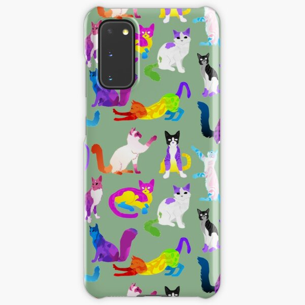 The Full Feline Spectrum Samsung Galaxy Snap Case