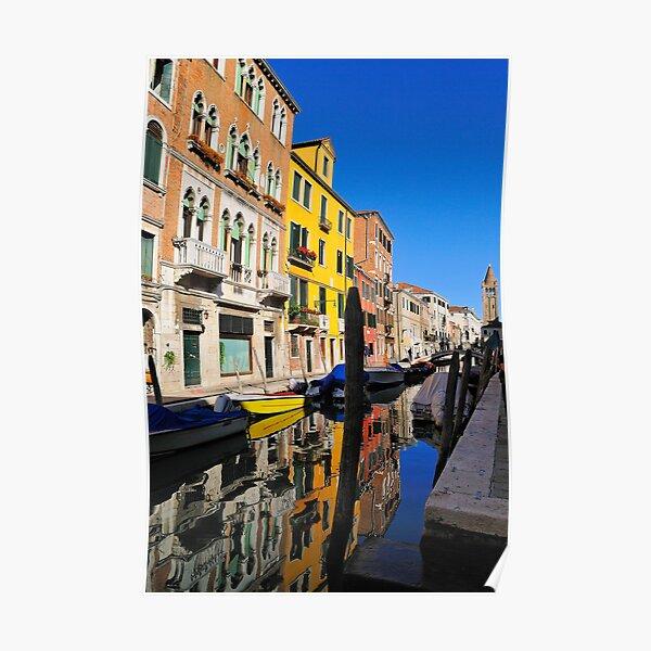 Rio di San Barnaba, Dorsoduro, Venice Poster