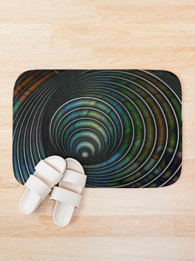 Alternate view of Chameleon's Eye II Bath Mat