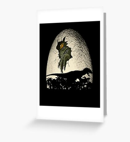 A nightmare is born. Greeting Card