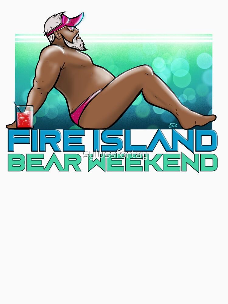 FIRE ISLAND BEAR WEEKEND 2020 (Chilling) by sylussfortay