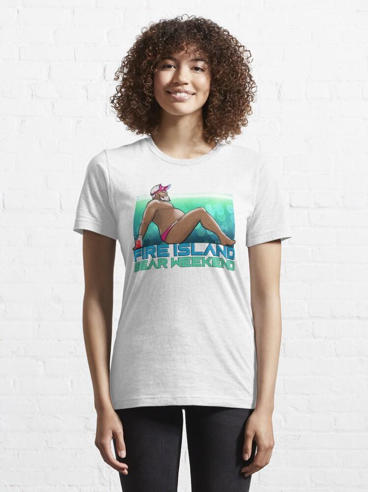 Alternate view of FIRE ISLAND BEAR WEEKEND 2020 (Chilling) Essential T-Shirt