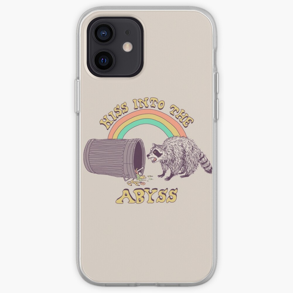 Hiss Into The Abyss iPhone Case & Cover