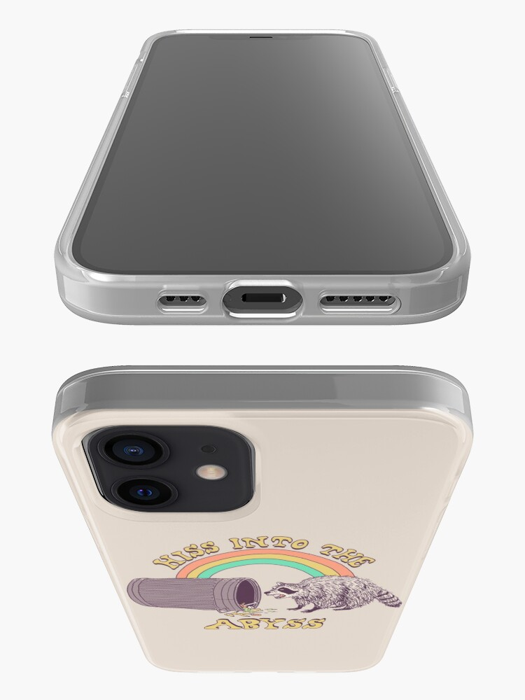 Alternate view of Hiss Into The Abyss iPhone Case & Cover