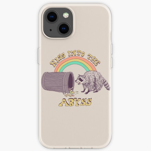Hiss Into The Abyss iPhone Soft Case