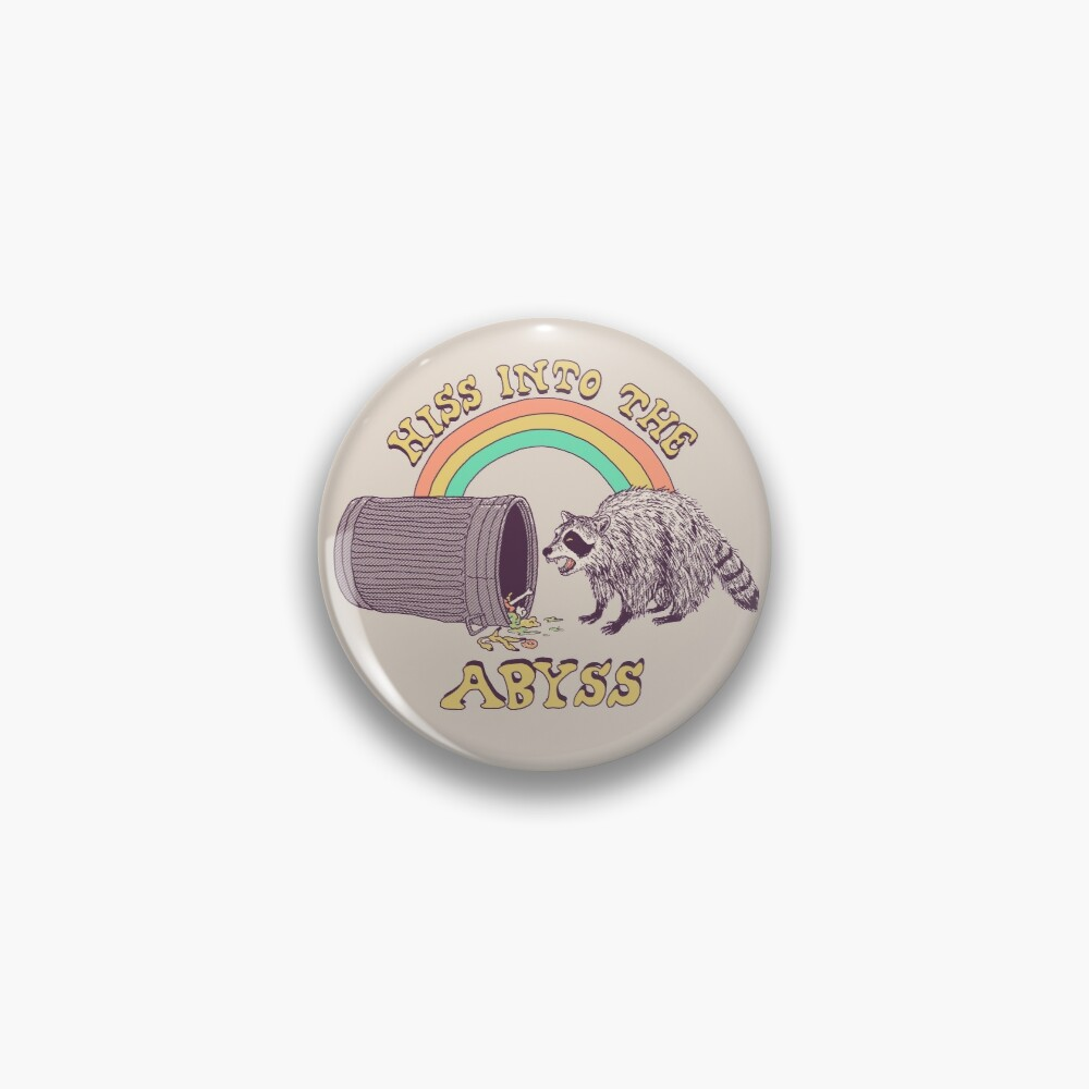 Hiss Into The Abyss Pin