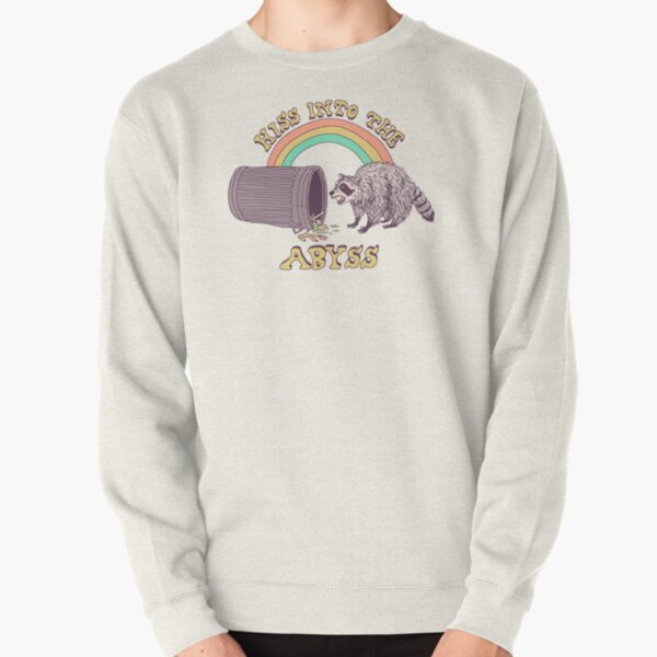 Hiss Into The Abyss Pullover Sweatshirt