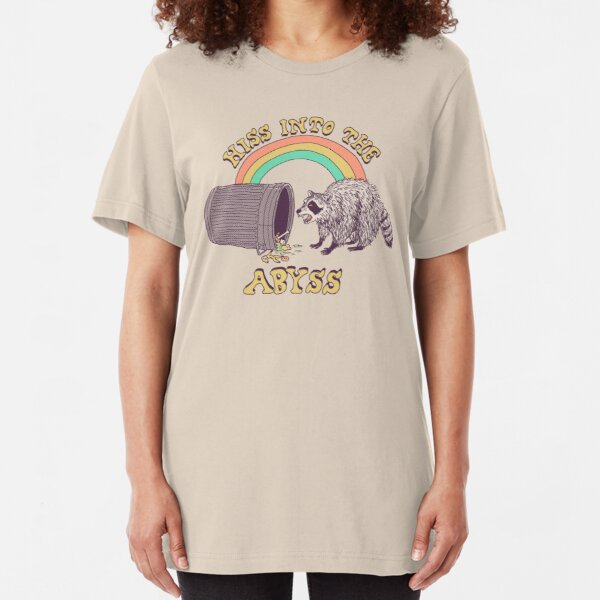 Hiss Into The Abyss Slim Fit T-Shirt