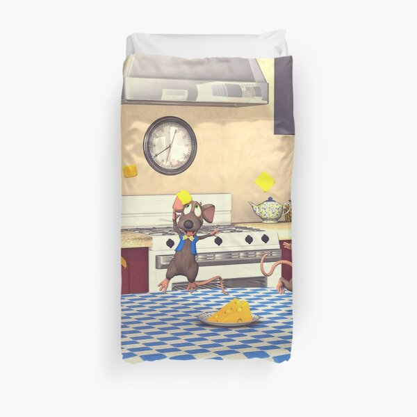 Cheese Party Duvet Cover