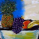 Fruit By My Window - Sydney, Australia by Angela Gannicott