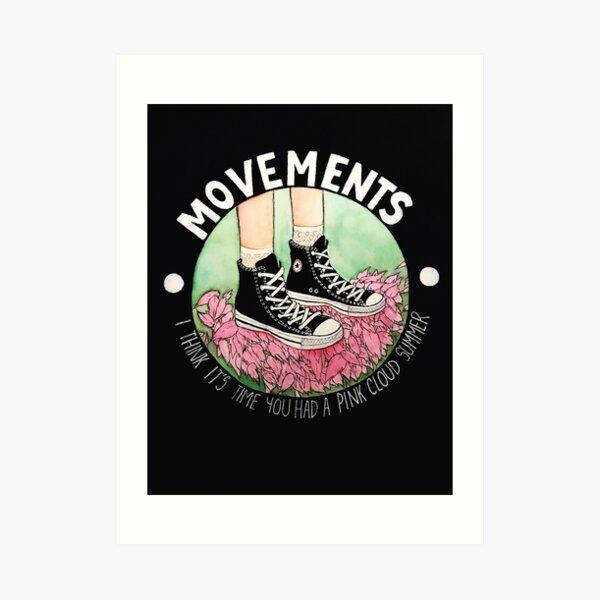 Movements-Daylily Art Print