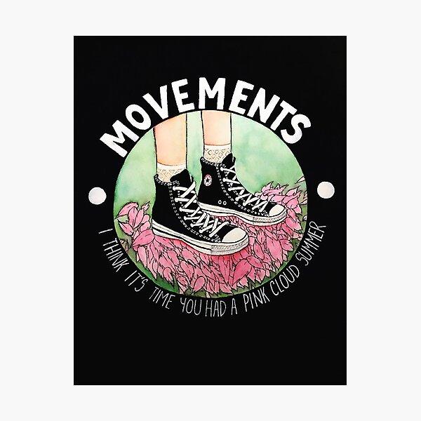 Movements-Daylily Photographic Print