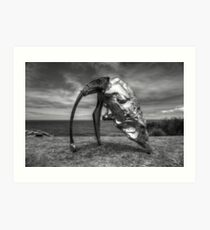 Cultivated Steel Art Print