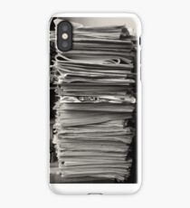 iphone case - old papers  iPhone Case