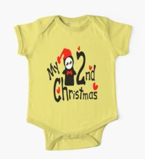 My 2nd Christmas penguin vector art  Kids Clothes