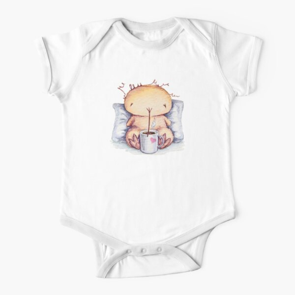 Morning Kwii for kids clothes Short Sleeve Baby One-Piece