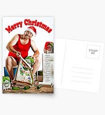 Mr December - Spreading Christmas Beer! Postcards