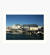 Capetown Harbour Art Print