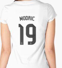 luka modric Women's Fitted Scoop T-Shirt