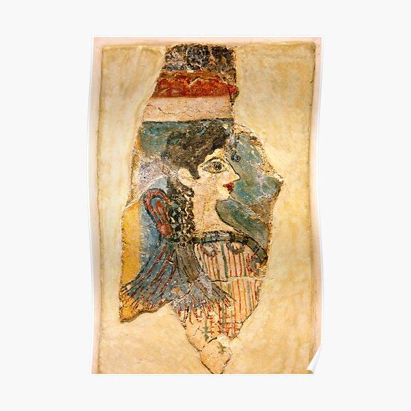 """La Parisienne"" from Minoan Crete Poster"