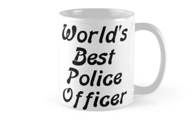 World's Best Police Officer by PingusTees