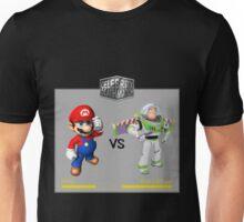 Mario Bros vs Buzz Lightyear Unisex T-Shirt