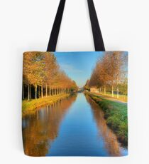 Morning On The Ladders Tote Bag