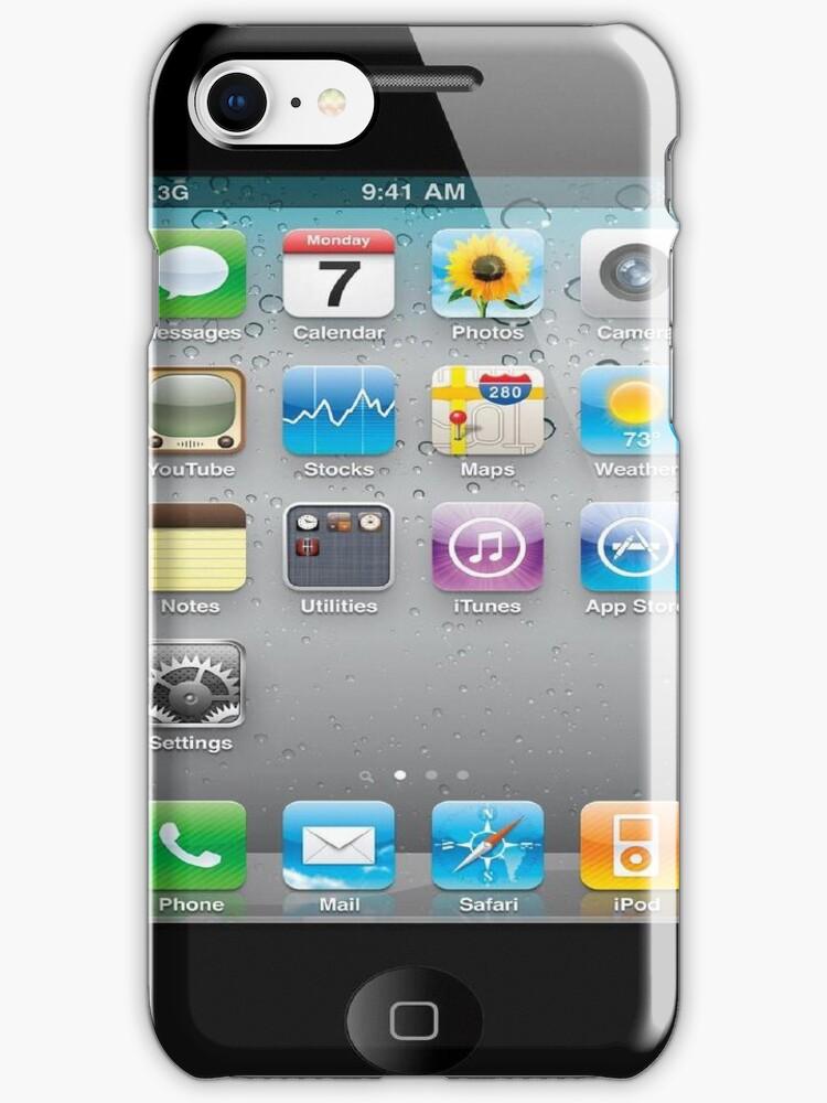 Reverse iPhone Case by Random Artist No. 2