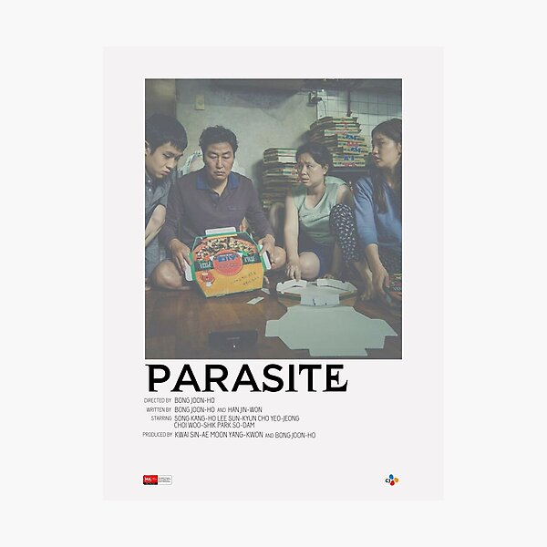 Parasite Movie Poster Photographic Print