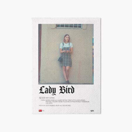 Lady Bird Movie Poster Art Board Print