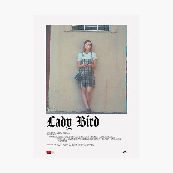 Lady Bird Movie Poster Photographic Print
